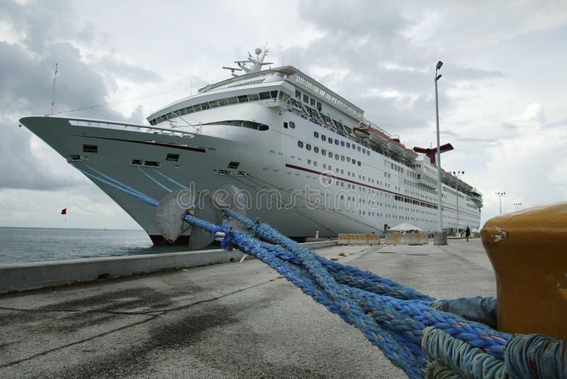 Download In Port stock photo. Image of rope, liner, docked, port - 465070