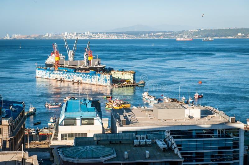 Download Port Activity stock image. Image of horizon, marina, boat - 27499417