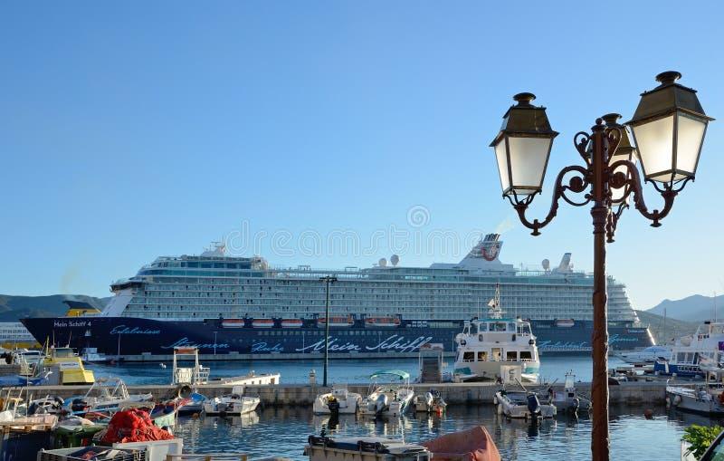 The port of Ajaccio royalty free stock image