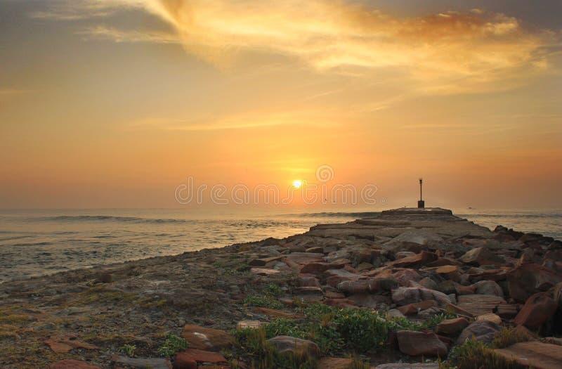 Port Alfred Pier Sunrise photos stock