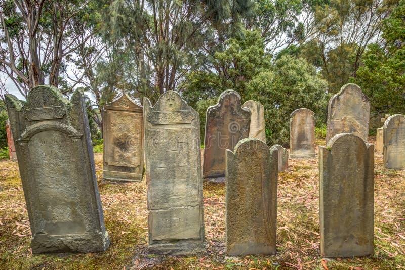 Port Arthur : Île des morts photographie stock libre de droits