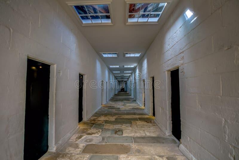 Port Arthur: Avskilj fängelset royaltyfria foton