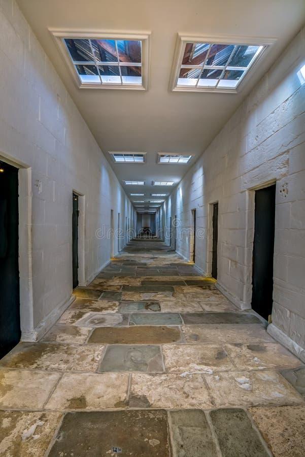 Port Arthur Historic Site: Avskilj fängelset royaltyfria foton