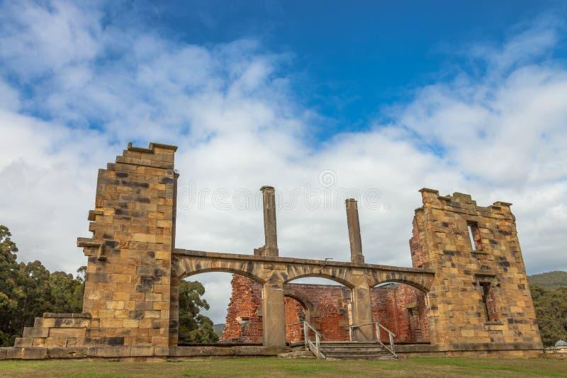 Port Arthur Historic Site : L'hôpital photographie stock libre de droits