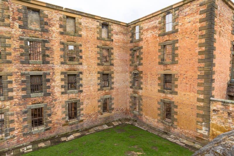 Port Arthur Historic Site : La prison images libres de droits