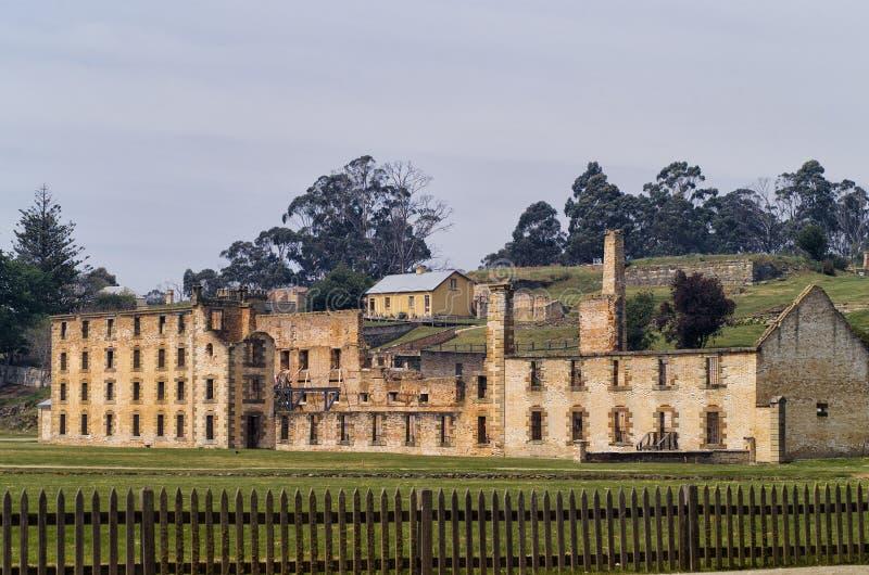 Port Arthur Historic Site Tasmania royalty free stock photo