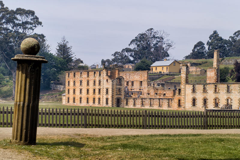 Port Arthur Historic Site Tasmania stock photo