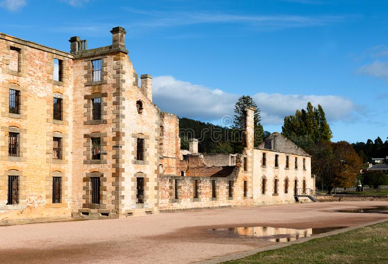 Port-Arthur Historical Convict Settlement, Tasmanien, Australien stockfoto