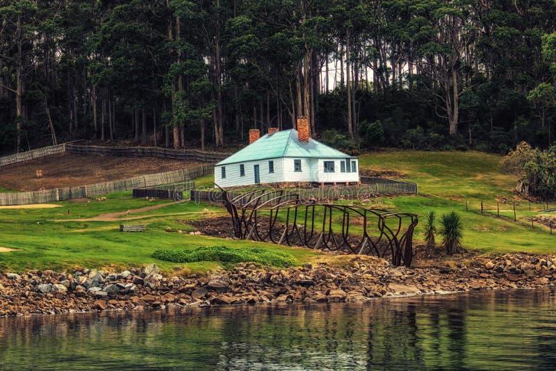 Port Arthur Historical site Tasmania Australia. Cottage Port Arthur Historical site Tasmania Australia stock photography