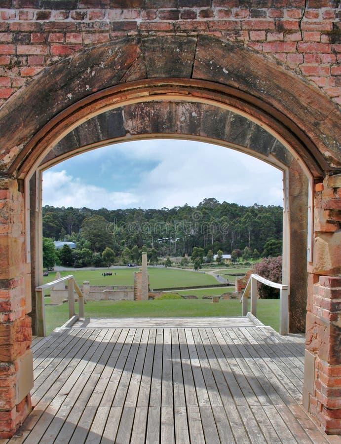 Port Arthur, Tasmanien stockbilder