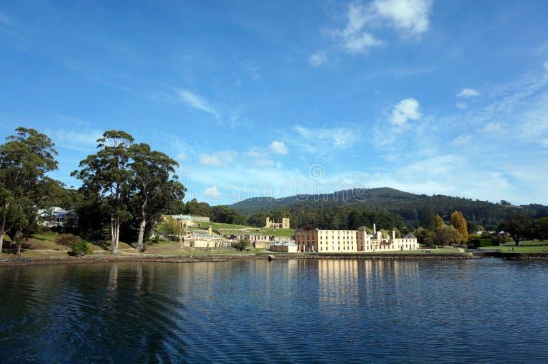 Port Arthursikt arkivfoto