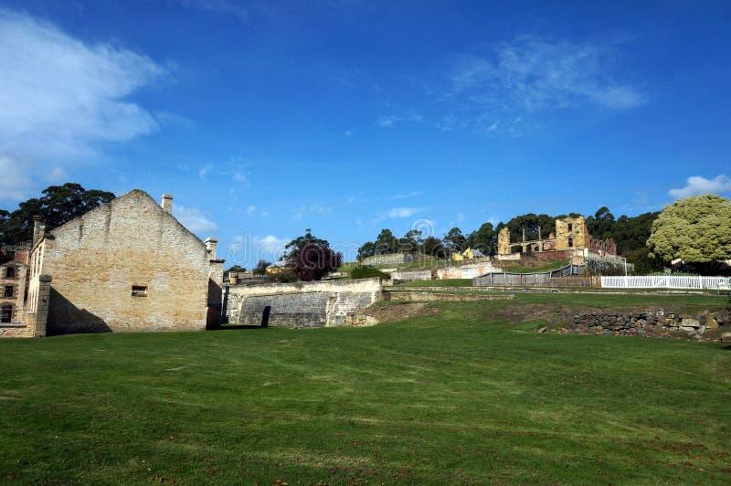 Port Arthursikt royaltyfria foton