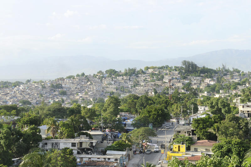 Port-au-Prince. fotografia stock libera da diritti