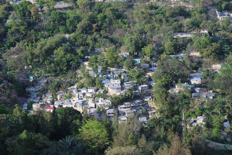 Port-au-Prince domy obraz stock