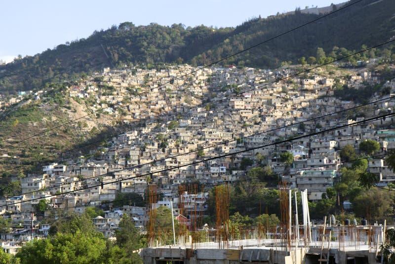 Port-au-Prince odbudowywający zdjęcia stock