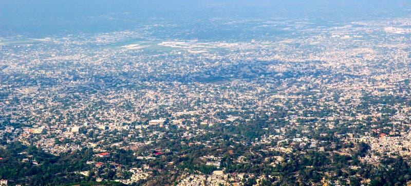Port-au-Prince widok zdjęcia stock