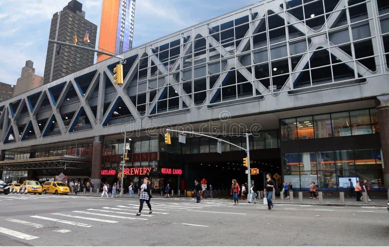 Port Authority de NY y de NJ foto de archivo libre de regalías