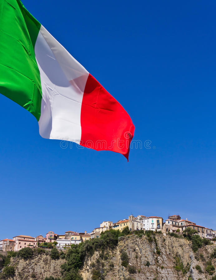 Port av Agropoli, Salerno royaltyfria foton