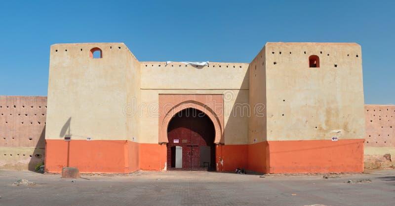 Port av Bab Doukkala royaltyfria foton