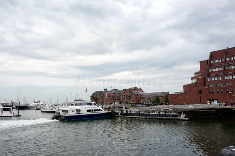 Port av Boston royaltyfri fotografi
