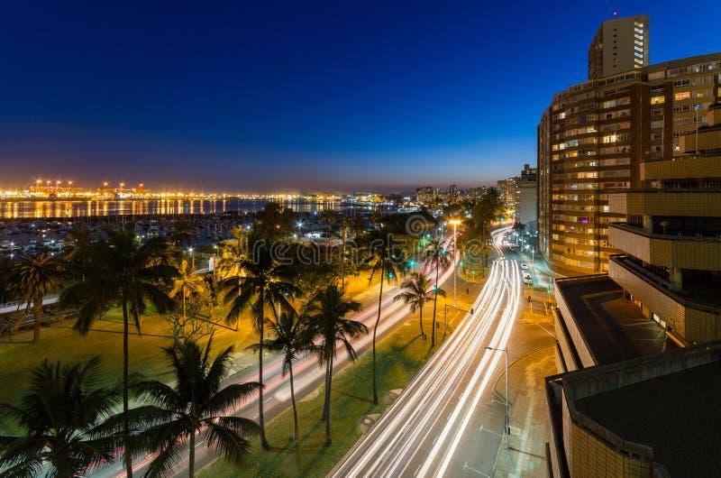 Port av Durban i Sydafrika royaltyfri fotografi