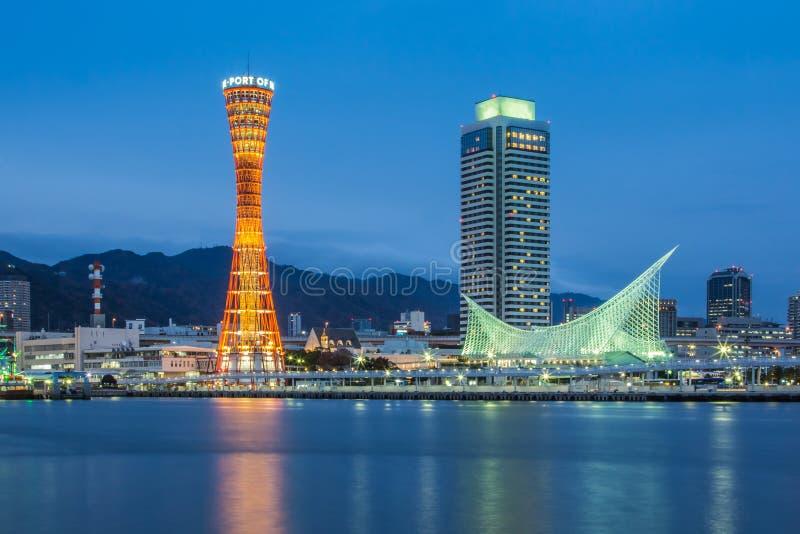 Port av Kobe, Japan royaltyfri bild