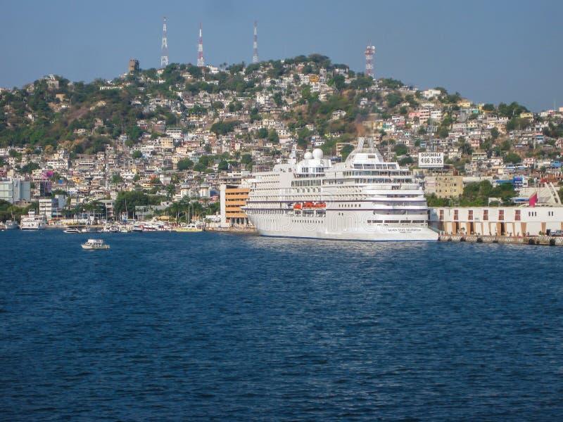 Port av Manzanillo royaltyfri foto