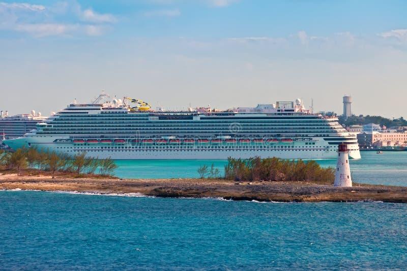 Port av Nassau, Bahamas royaltyfri fotografi