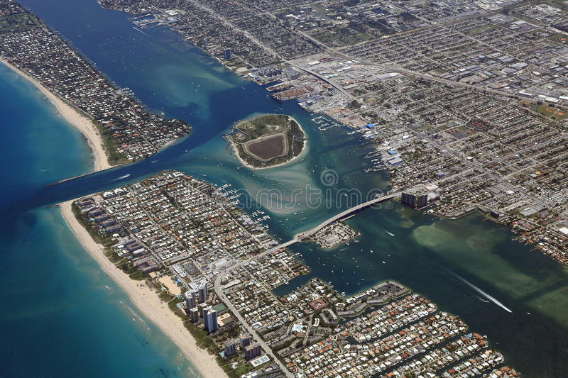 Port av Palm Beach royaltyfri foto