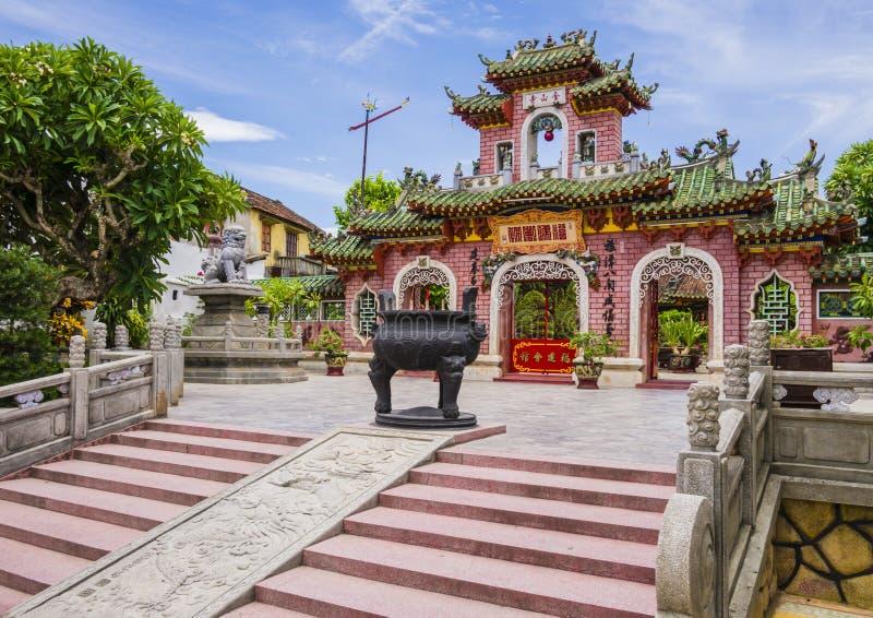 Port av Phuc Kien Assembly Hall royaltyfri fotografi