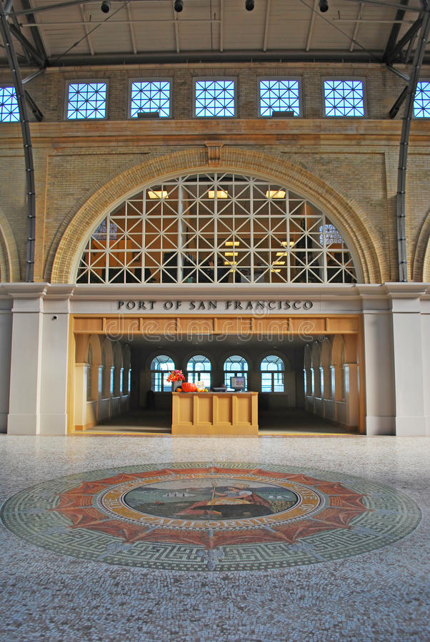 Port av San Francisco fotografering för bildbyråer