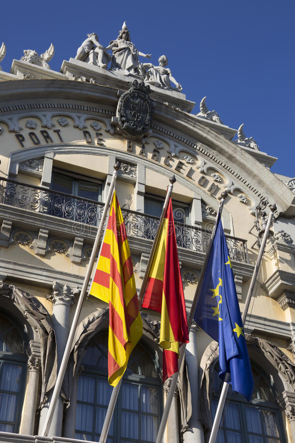 Port of Barcelona - Barcelona - Spain royalty free stock images