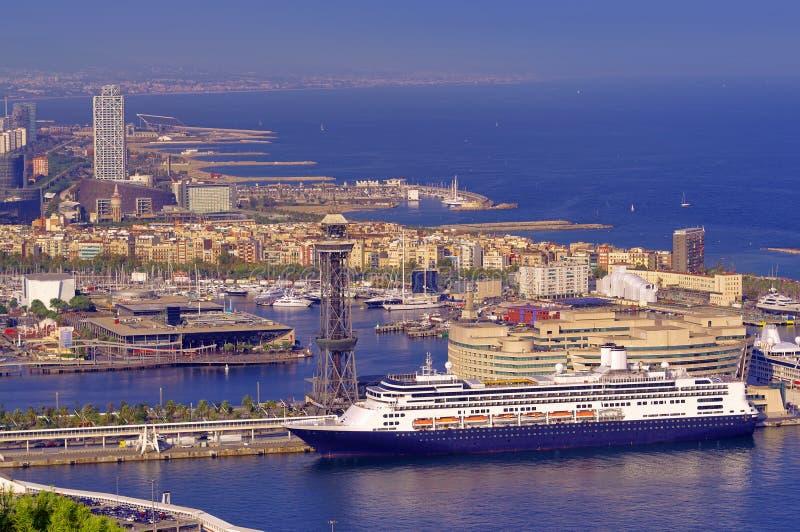 Port of Barcelona Spain royalty free stock photo
