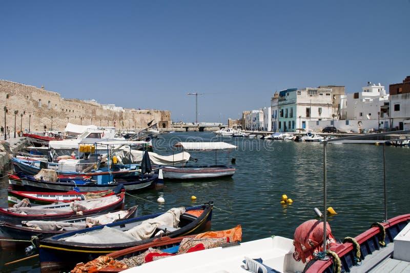 Port Bizerte royalty free stock photo