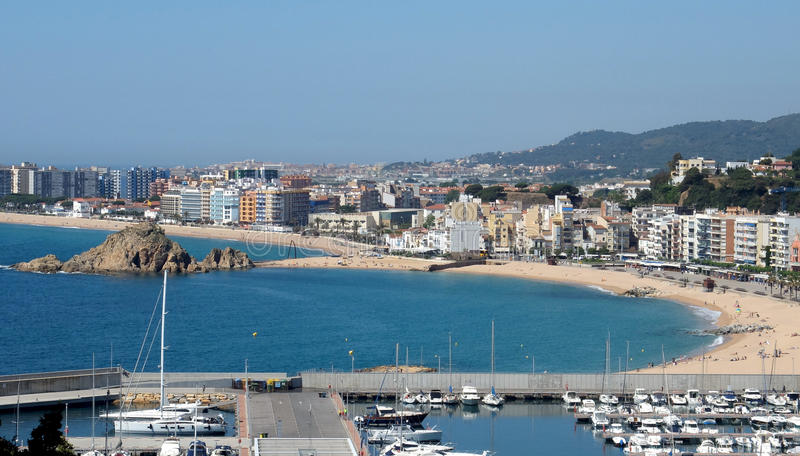 The Port Of Blanes stock photo