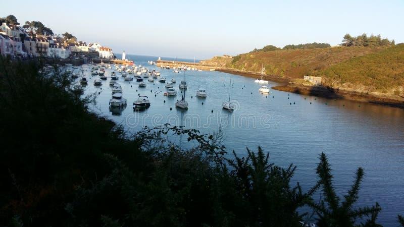 Port britannic typique photo stock