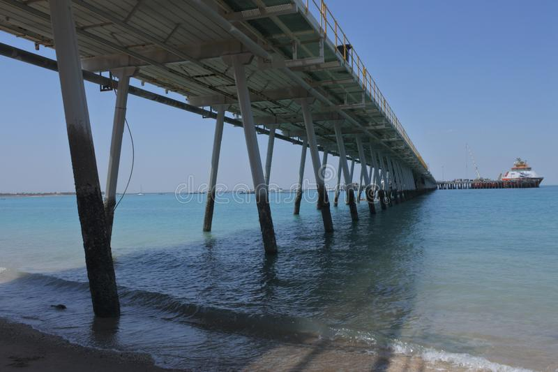 Port of Broome - Kimberley Ports Authority Western Australia royalty free stock photography