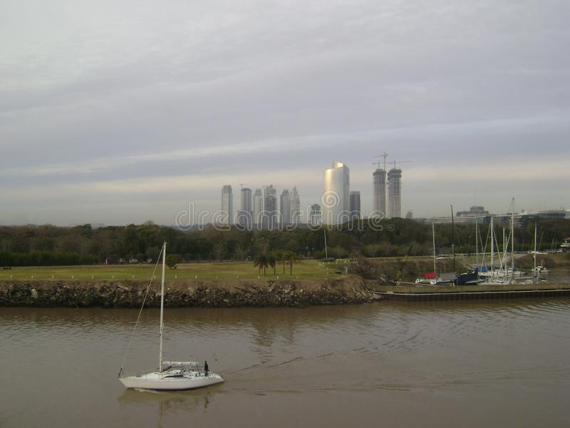 Port of Buenos Aires royalty free stock photo