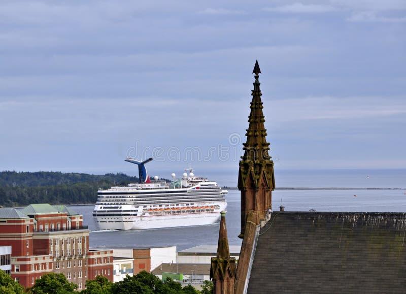 Port of Call Halifax stock image