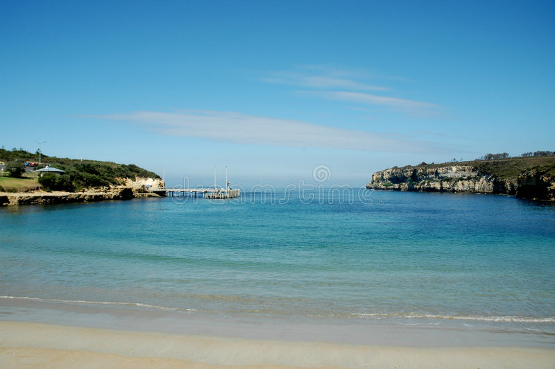 Port Campbell Bay Victoria royalty free stock photos