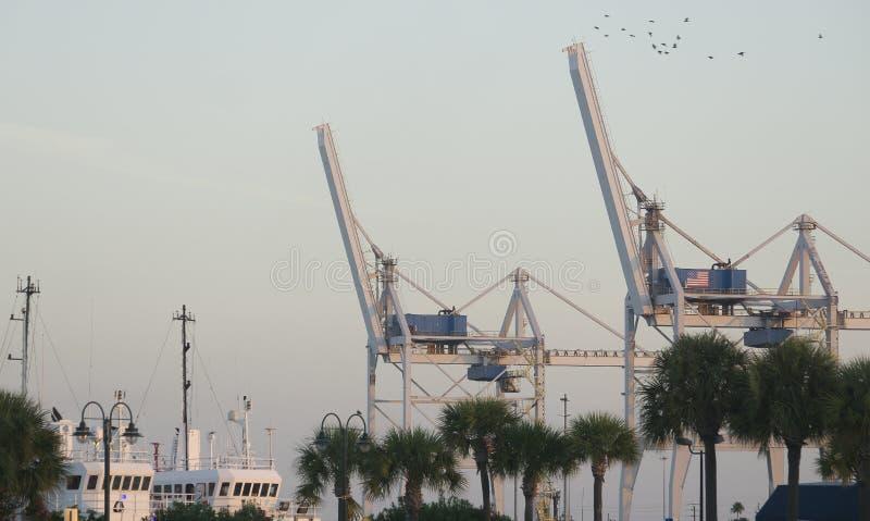 Port Canaveral florida arkivbild