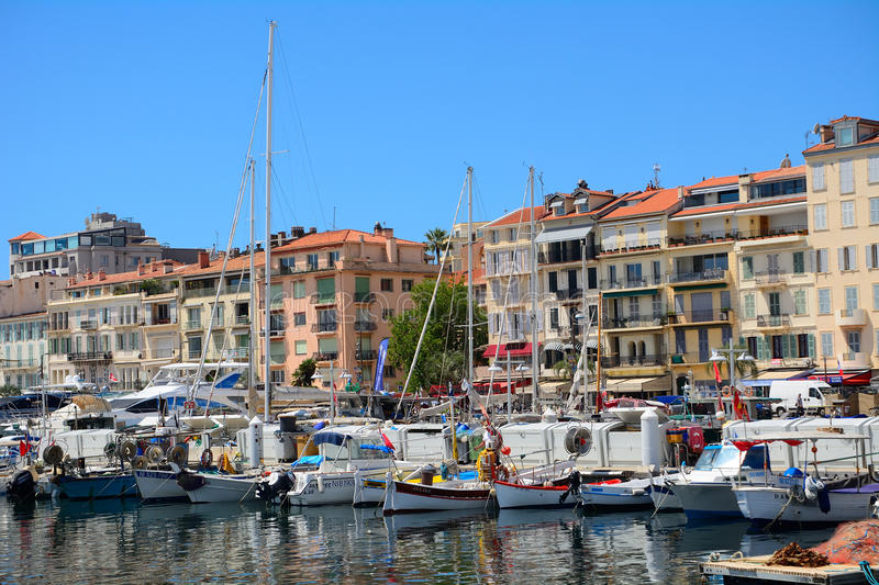 Port, Cannes, France royalty free stock images
