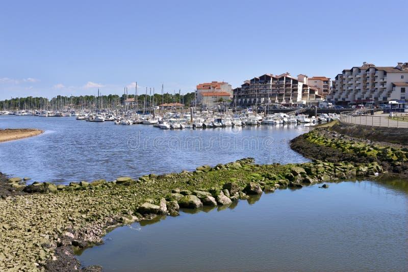 Port Capbreton w Francja obraz stock