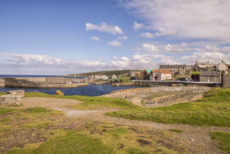 Port chez Portsoy sur Moray Firth photos libres de droits