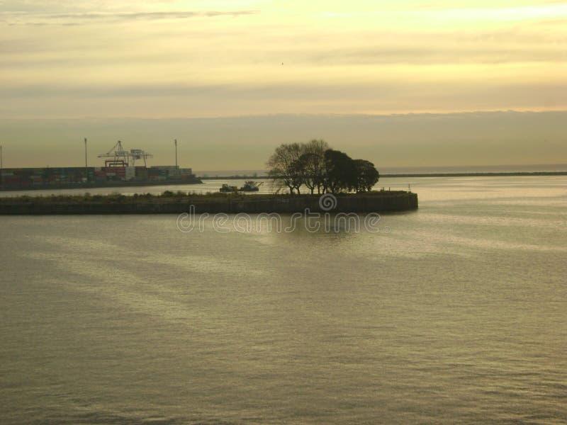 Port of Colonia, Uruguay royalty free stock photography