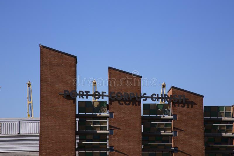 Port of Corpus Christi, Corpus Christi Texas royalty free stock photography