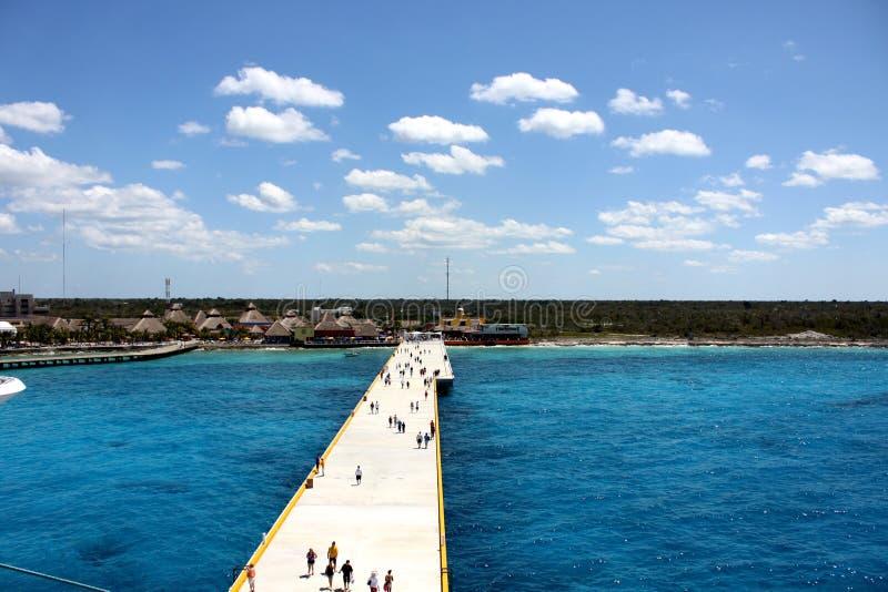 Port Of Cozumel Stock Photography