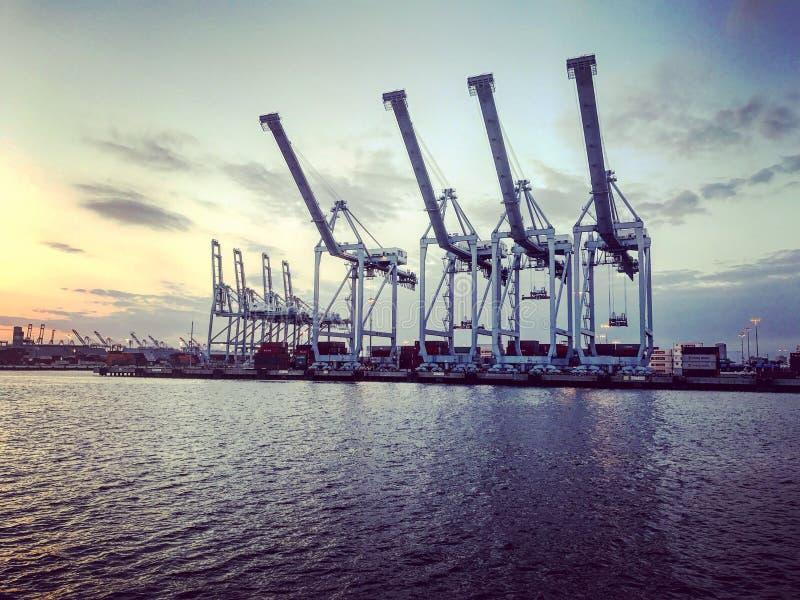 port długi plażowy California zdjęcie stock