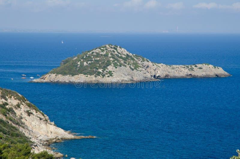 Port d'îles d'île de Hercules Tuscan image stock