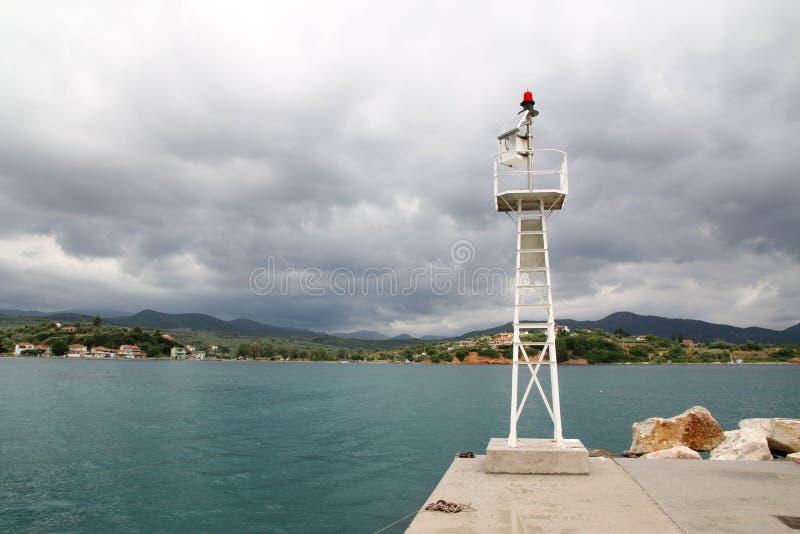 Port d'Achillio photographie stock